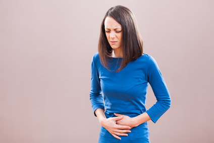Pain caused by cramping in inflammatory bowel disease