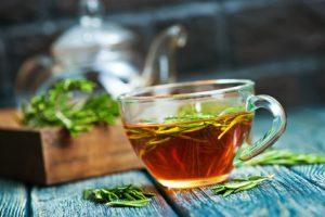 herbal medicine prepared as a tea