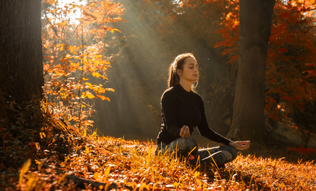 managing stress with meditation