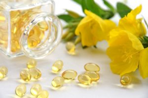 image of evening primrose and evening primrose oil