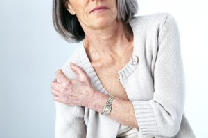 image of elderly person with chronic pain