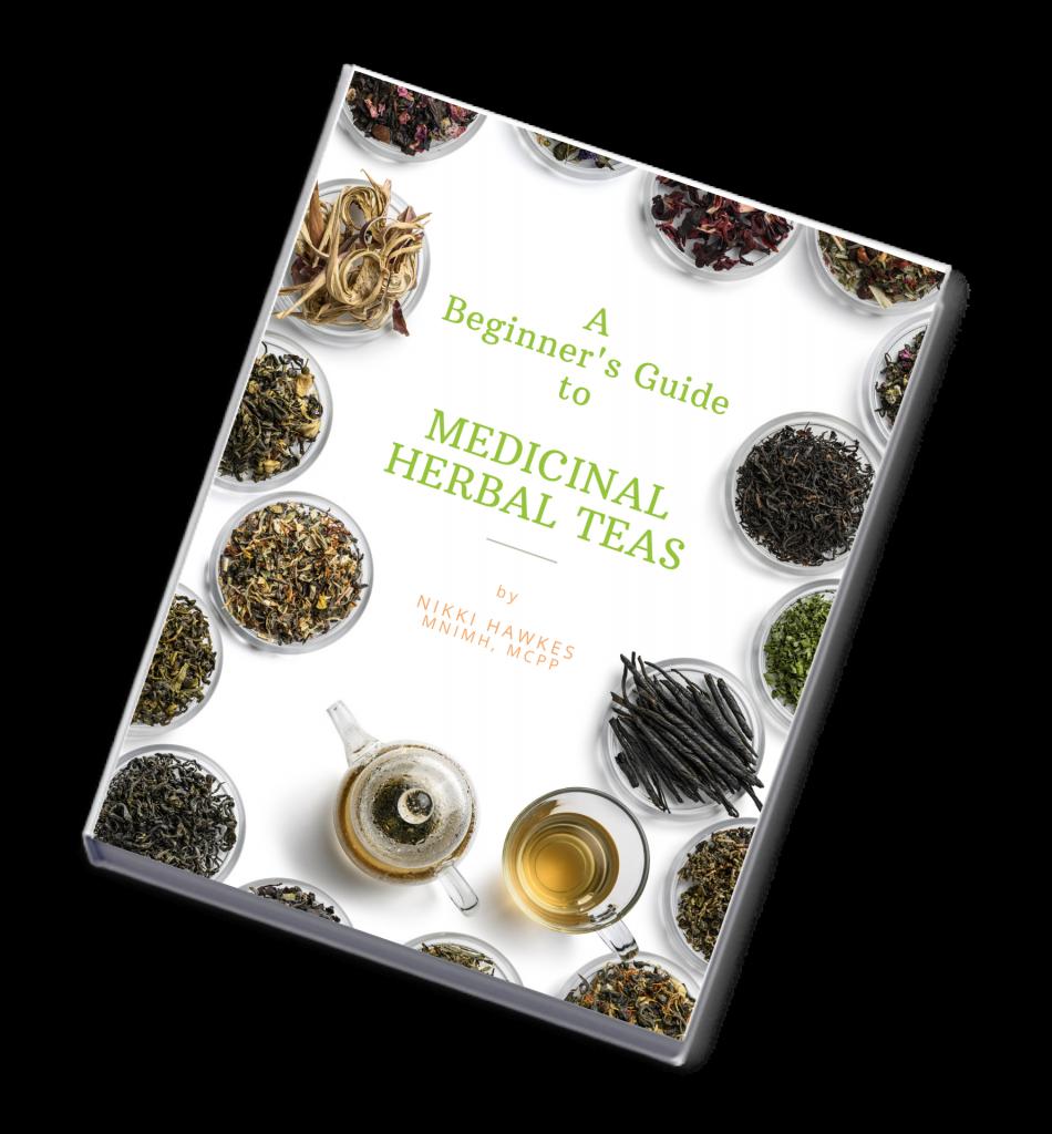 image of medicinal herbal teas ebook