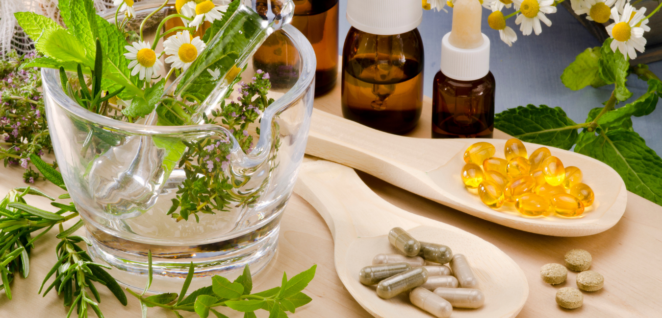 image of different types of herbal medicine